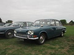 Triumph 2000 SYC564G (Andrew 2.8i) Tags: haynes motor museum breakfast meet sparkford yeovil somerset show classic classics cars car autos triumph 2000 bmc mk1 mk 1 mark saloon british