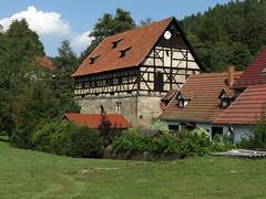 Kirche Paulinzella (germancute) Tags: outdoor nature thuringia thüringen landscape landschaft wildflower wald flower forest dorf tree teich
