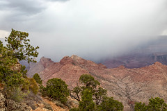Storm Imminent (Kirk Lougheed) Tags: arizona coloradoplateau desertview escalantebutte grandcanyon grandcanyonnationalpark southrim usa unitedstates canyon cloud landscape nationalpark outdoor park rain rim sky storm summer