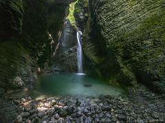 hiden waterfall (Alfredo Romero) Tags: 500px waterfall slovenia landscape water long exposure mountains
