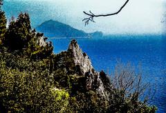 90-03 pan fels capri sorent steil ag30-138 (ulrich kracke (many thanks for more than 1 Mill vi) Tags: i amalfi capri hp panorama sorento steilküste zweigalt