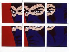 Diabolik (Valt3r Rav3ra - DEVOted!) Tags: fuji instaxsquare instax instantfilm instantcamera analogico film colori valt3r valterravera fumetti diabolik italia comics mosaico