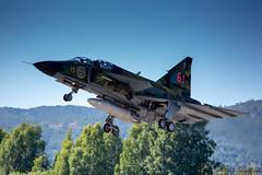 Saab Viggen (geirchristensen) Tags: sedxo viggen saab swedish fighter aircraft airplane airshow enno notodden norway telemarkairshow swedishairforcehistoricflight airforce historic flight