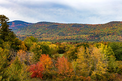 Autumn in New Hampshire (Bob90901) Tags: autumn newhampshire whitemountains intervale mountwashingtonvalley fall color foliage fallcolors trees rpg90901 whitemountainnationalforest forest morning clouds landscape canon 6d canonef70200mmf28lisiiusm canon70200f28lll 2016 october 1059