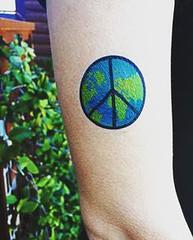World Peace Tattoo # (TattooForAWeek) Tags: world peace tattoo tattooforaweek temporary tattoos wicker furniture paradise outdoor