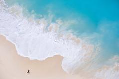 beach walks (marin.tomic) Tags: bali indonesia nusapenida island tropical asia southeastasia beach waves ocean blue travel nikon d90 view traveler summer holiday vacation