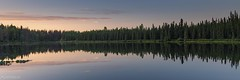 Lake panorama - Alaska (Captures.ch) Tags: wolken clouds clear klar tag sunset sonneuntergang evening day abend fall herbst swanlake kenainationalwildliferefuge kenaipeninsula sterling alaska water wasser wald tree stein stone sky see landschaft landscape lake himmel gras forest baum aufnahme capture
