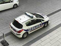 Police Nationale - French National Police Force - EuroAirport - Basel (firehouse.ie) Tags: polizei polizia polis policia vehicles vehicle automobiles automobile autos l'auto coches coche cars car peugeot paf euroairport policenationale french police