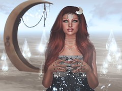 Music Rescues Me (Arwen Clarity) Tags: pose people 2ndlife sl second secondlife life mesh maitreya blogs blog blogger bloggers blogging avatar moon attic valor photo photography photographic sim stealthic