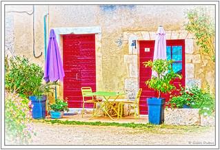 Les rues de Saint-Jean-de-Cole - Table ouverte au n° 2