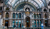 2018 - Belgium - Antwerp - Centraal Station - 1 of 5 (Ted's photos - For Me & You) Tags: 2018 antwerp belgium cropped nikon nikond750 nikonfx tedmcgrath tedsphotos vignetting antwerpcentralstation antwerpbelgium antwerpenbelgium antwerpen trainstation railwaycathedral railwaycathedralantwerp antrweprailwaycathedral louisdelacenserie clémentvanbogaert columns arches backpack