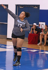 IMG_2931 (SJH Foto) Tags: girls high school volleyball teens team east stroudsburg varsity serve burst mode