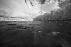 IR on/in the River (DRCPhoto) Tags: irconverteddslr canon5d digitalinfrared sigma1224mmdghsm cheatriver westvirginia