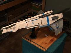 LEGO - SHIPtember 2018 - WIP (k9iug) Tags: legospace homeworld legohomeworld legoshiptember shiptember shiptember2018