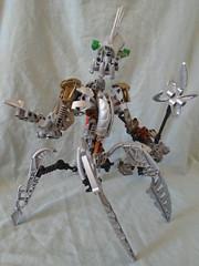 Dark Hunter Seeker (Vahki6) Tags: dark hunter instructions seeker moc lego bionicle