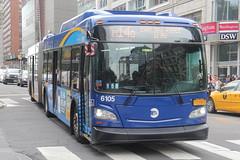 IMG_1419 (GojiMet86) Tags: mta nyc new york city bus buses 2017 xd60 6105 m14d 14th street university place
