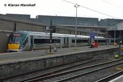 22021 at Connolly, 1/8/18 (hurricanemk1c) Tags: railways railway train trains irish rail irishrail iarnród éireann iarnródéireann 2018 22000 rotem icr rok 4pce dublin connolly 22021