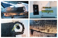 Space Shuttle Discovery 5 (PDX Bailey) Tags: aviation air space smithsonian museum udvarhazy center steven shuttle discovery virginia national hangar nasa united states available light olympus em1 spaceshuttle collage montage tile tiles