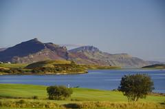Rough and smooth (Sundornvic) Tags: isle skye scottland island mountains morning light sun shine water rocks wild