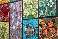 Nature Mural (A_Renee_88) Tags: boston art quincy mural nature ducks butterflies flowers lady bug honey comb beautiful artistic