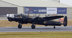 Lancaster (Bernie Condon) Tags: riat airtattoo tattoo ffd fairford raffairford airfield aircraft plane flying aviation display airshow uk avro lancaster raf bomber bbmf memorialflight pa474 military warplane classic preserved vintage memorial ww2 royalairforce british