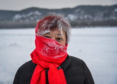 Portrait of an Asian woman in winter (phuong.sg@gmail.com) Tags: asian attractive beauty black cap china chinese christmas clothes coat cold covered cute enjoy eyes face fashion female fun fur hands happy hat healthy holiday model nature outdoor park people person portrait red scarf season shawl skincare smile smiling snow surprised teeth time tree white winter woman young