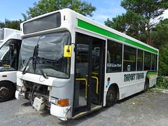 Target Travel MP03CYF (Devon and cornwall Bus Spotter) Tags: target travel mp03cyf dennis dart mpd mini pointer withdrawn scrap dead broken ltd plymouth bus vor old