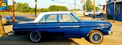 Ford Falcon (mark1973r) Tags: ford falcon blue worldcars classic cruiser