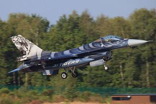 FA-87, Lockheed F-16C Belgium Air Force @ Kleine Brogel EBBL