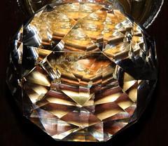 Century Old Glass Door Knob (Joseph Hollick) Tags: macromondays glass macro doorknob