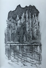 Air (Matt Vandevert) Tags: donner sodasprings reflect peak forest tree place movement sketch draw landscape art pencil surface water lake california longlake mountain sierra