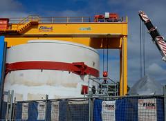 Sydney Metro - Marrickville Dive Site (8) (john cowper) Tags: sydneymetro marrickville divesite tbm cranes crane transportfornsw metrosouthwest metroauthority tunnelboringmachine sydney newsouthwales