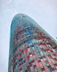 I'm a city icon (Sergi Montes) Tags: tower building sky skyscraper barcelona agbar architecture