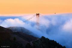 The Fog (Joseph Greco) Tags: goldengatebridge salesforcetower sanfrancisco fog marinheadlands marincounty landscape morning