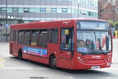 AL ENL106 @ West Croydon bus station (ianjpoole) Tags: arriva london alexander dennis enviro 200 lx11awj enl106 working route 166 west croydon bus station marks spencer banstead
