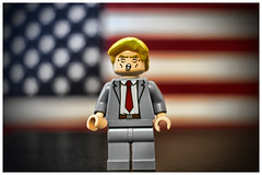 The Trump Minifig (Silverio Photography) Tags: lego minifig toy maga canon 60d 24mm pancake primelens