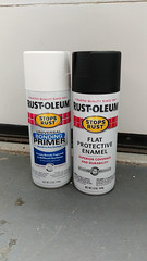 Rustoleum Bonding Primer & Flat Protective Enamel (osiristhe) Tags: cellphone howto painting furniture