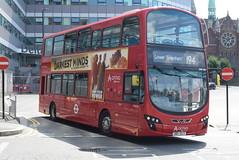AL DW261 @ West Croydon bus station (ianjpoole) Tags: arriva london vdl db300 wright pulsar gemini 361clt dw261 working route 194 west croydon bus station bell green lower sydenham