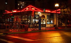 Who loves QV's? (vanessa_macdonald) Tags: vancouverisland vanisle britishcolumbia bc nightphotography nightscape night life reflections glow warm lights streetscape cityscape city urban victoria victoriabc tourism travel town sidewalk