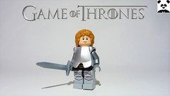 29 - Loras Tyrell (S2) - Kingsguard (HaphazardPanda) Tags: lego figs fig figures figure minifigs minifig minifigures minifigure purist purists character characters films film movie movies tv show shows toy game thrones castle black the wall stark snow baratheon tyrell loras flowers lord kingsguard