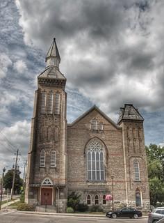 Paris Ontario - Canada -  Paris Baptist Church - Heritage