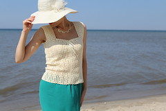 IMG_1778 (@vip_hand_knitting) Tags: knit knitting knitter cotton crochet crocheted beach summer top handiwork handknitted handmade women