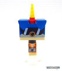 Front view of Shades Puppycorn (WhiteFang (Eurobricks)) Tags: lego bind bags unikitty series 1 brick built animals kitty puppy box colourful vibrant sunshine cheerful fun pink