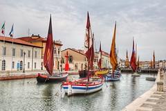 Porte Canale Leonardesco (frenziM´s little world) Tags: maritime museum floatingmuseum cesenatico italy ship water portocanale canal fishingship bateau voilier segelboot bateaudepêche