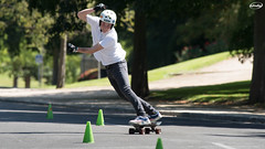 DSC06745-p (Myprofe) Tags: skateboard slalom madrid downhill moncloa westpark skate