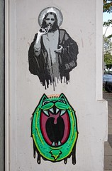 - (txmx 2) Tags: hamburg streetart stencil rumo superfatcat sfc cutout pasteup altona ottensen