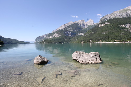 """Molveno Lake • <a style=""""font-size:0.8em;"""" href=""""http://www.flickr.com/photos/104879414@N07/44744828951/"""" target=""""_blank"""">View on Flickr</a>"""