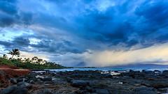 Storm Over Kahului (Siêu Vi) Tags: 2014 babybeach baldwinbeach beautiful clouds hawaii kahului maui ocean pacific paia sea sunset vacation water unitedstates