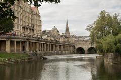 Bath (thulobaba) Tags: bath englqnd uk tourist tourism spa bridge spire arches columns