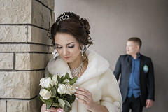 Tatyana (glotAbarm) Tags: wedding bride beauty bouquet groom